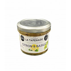 Tapenade Citron & Basilic