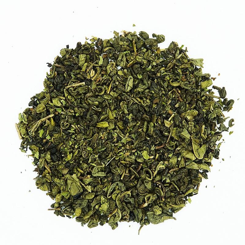 Thé vert menthe poivrée