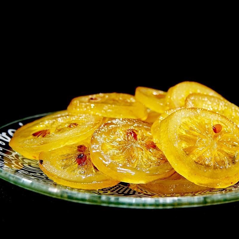 Tranches citrons confits