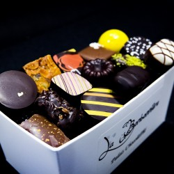 Ballotin Chocolat Noir, Lait et Blanc