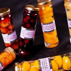 Fruits rafraîchis à l'alcool