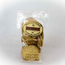 Biscuits aux amandes grillées