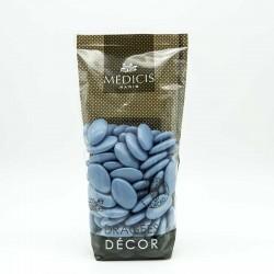 Dragées Chocolat Décor Médicis bleu
