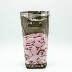 Dragées Chocolat Décor Médicis Rose