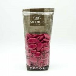 Dragées Chocolat Décor Médicis Rouge