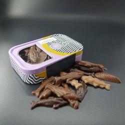 Boîte sardines en chocolat