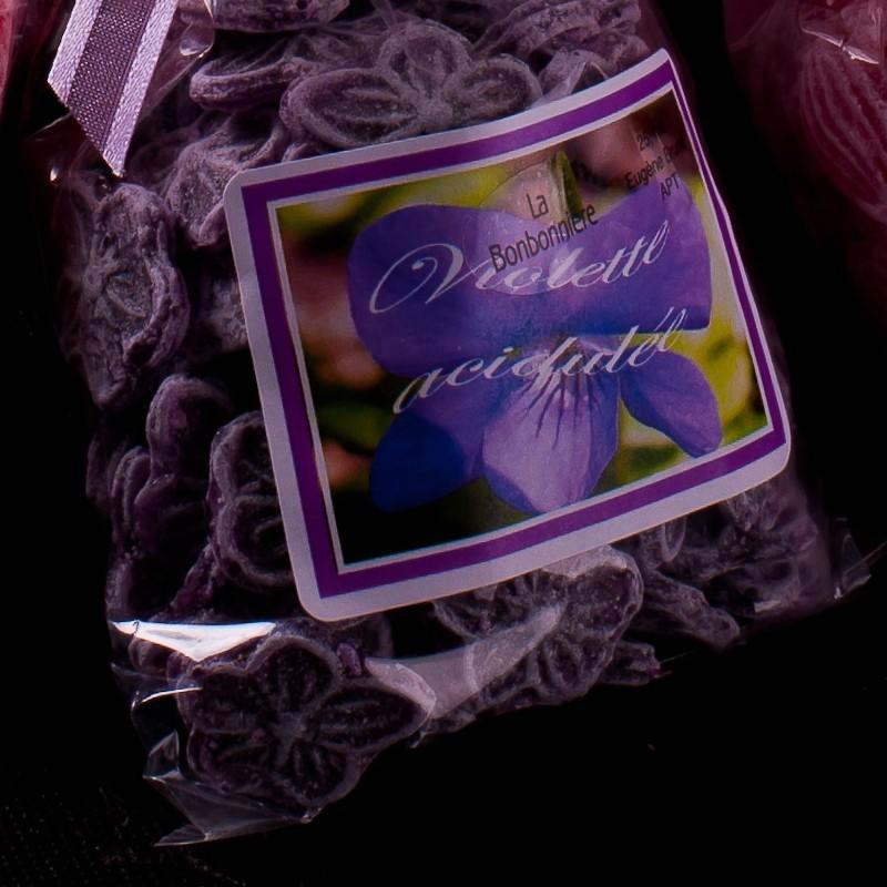 bonbon a la violette