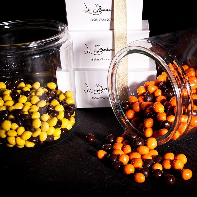 orange et citron confit chocolat