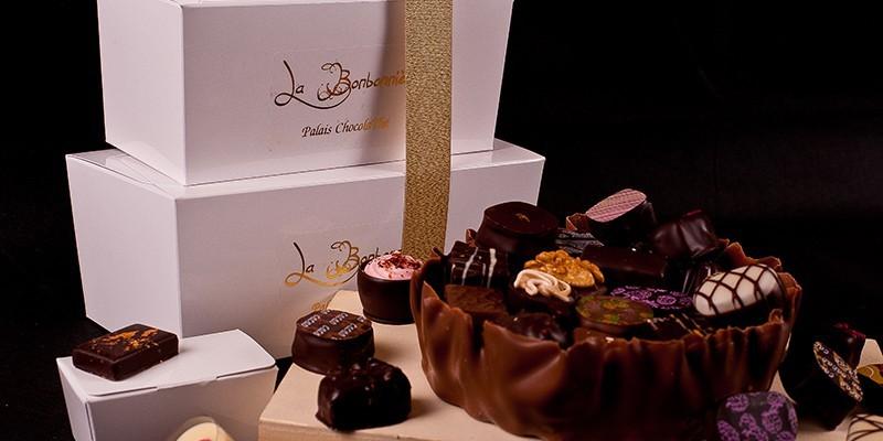 Ballotin chocolat - Le Palais ChocolaThé : Vente en ligne Chocolat fin