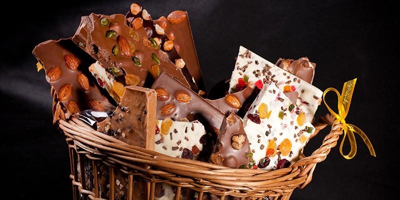 Tablette Chocolat Géante à casser - Le Palais ChocolaThé
