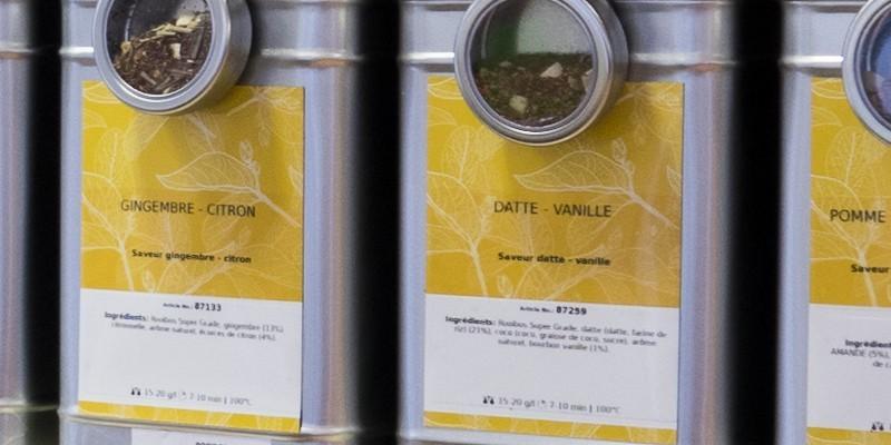 Thé parfumé - Vente en ligne Thé Parfumé  - Le Palais ChocolaThé